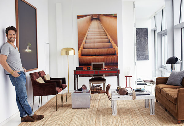 oprah magazine makes the connection between interiors and. Black Bedroom Furniture Sets. Home Design Ideas