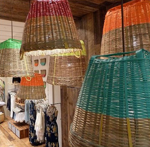 A new kind of sustainable lighting african basket lamp shades the mozeypictures Image collections